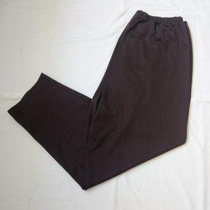Only Necessities Elastic Waist Band Pants Sz 28T